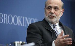 Ben Bernanke, le président de la Banque centrale américaine (Fed) sur le départ, a déclaré jeudi que son institution était armée pour faire face aux risques financiers posés par plusieurs années d'une politique monétaire ultra-expansionniste.