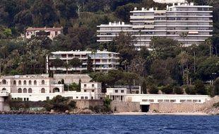 La villa Aurora, à Golfe-Juan (Alpes-Maritimes) où résidera le roi saoudien durant son séjour.  6