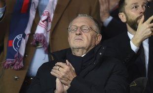 Jean-Michel Aulas, le président de l'Olympique lyonnais. (Illustration)
