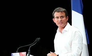 Manuel Valls, Premier ministre, le 29 août 2016 à Colomiers.