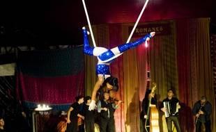 Le cirque Romanès est le sel cirque tzigane d'Europe.