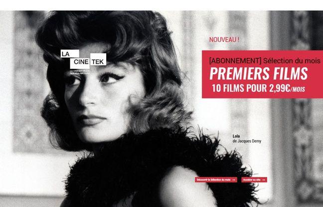 LaCinetek, plateforme spécialisée dans les films de catalogue.
