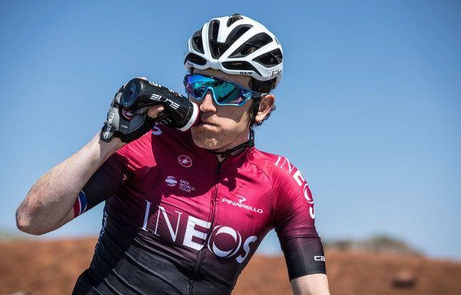 Tour de Suisse: Après sa chute, Geraint Thomas donne des nouvelles en mode humour british