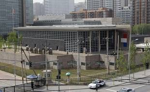 L'ambassade des Etats-Unis à Pékin, le 29 avril 2012.