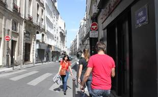 La rue de Clércy, dans le 2e arrondissement, compte trois immeubles dans les 257 soumis au droit de préemption renforcé.