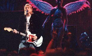 Le leader de Nirvana, Kurt Cobain
