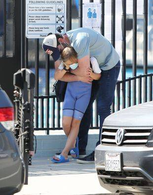 Ben Affleck et son fils