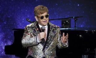 Le chanteur britannique Elton John