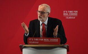 Jeremy Corbyn, le chef du parti travailliste (le Labour), principal parti d'opposition britannique.