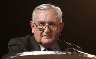 Jean-Pierre Raffarin à Strasbourg, le 5 mars 2014.