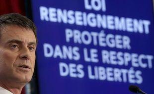 Manuel Valls, Premier ministre, le 19 mars 2015 à Paris.
