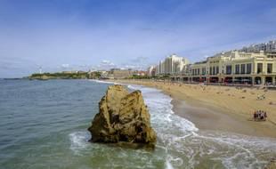 Grande plage à Biarritz