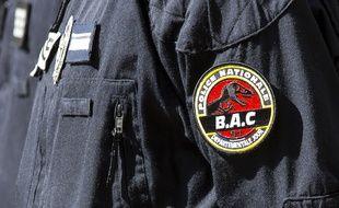 Un policier d'une brigade anticriminalité (Bac). Illustration.