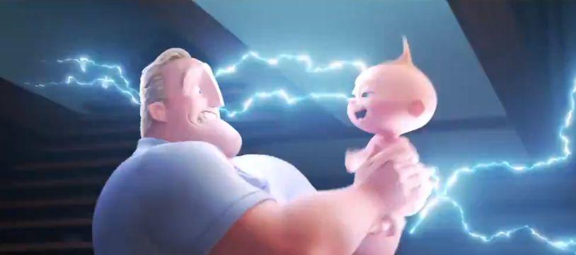 Dans ce second opus, le bébé, Jack-Jack, découvre ses pouvoirs.