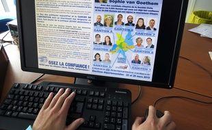 Les professions de foi des candidats de Loire-Atlantique sont consultables sur Internet.