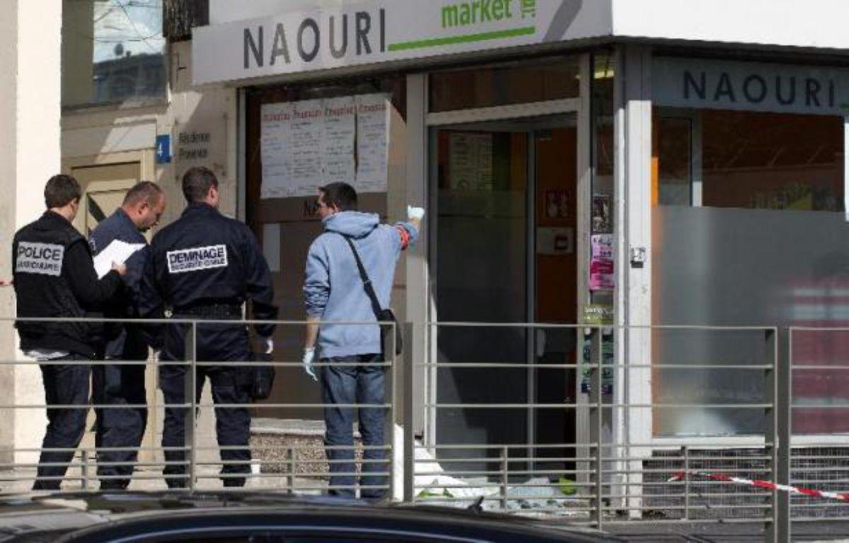 Le 19 septembre 2012, un supermarché casher était visé par un jet de grenade à Sarcelles (Val d'Oise) blessant un client. Une attaque attribuée à la cellule djihadiste de Cannes-Torcy.  –  AFP