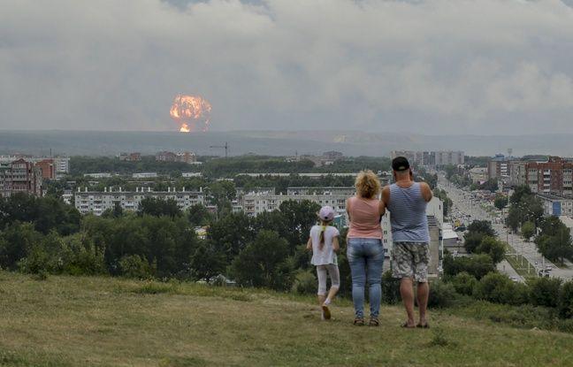 Explosion en Russie: Le taux de radioactivité a dépassé jusqu'à 16 fois le niveau habituel