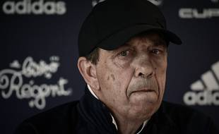 Jean-Louis Gasset, l'entraîneur des Girondins.