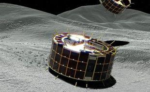 En février, le Japon est parvenu en février à poser une sonde sur un astéroïde distant de 340 millions de km de la Terre.