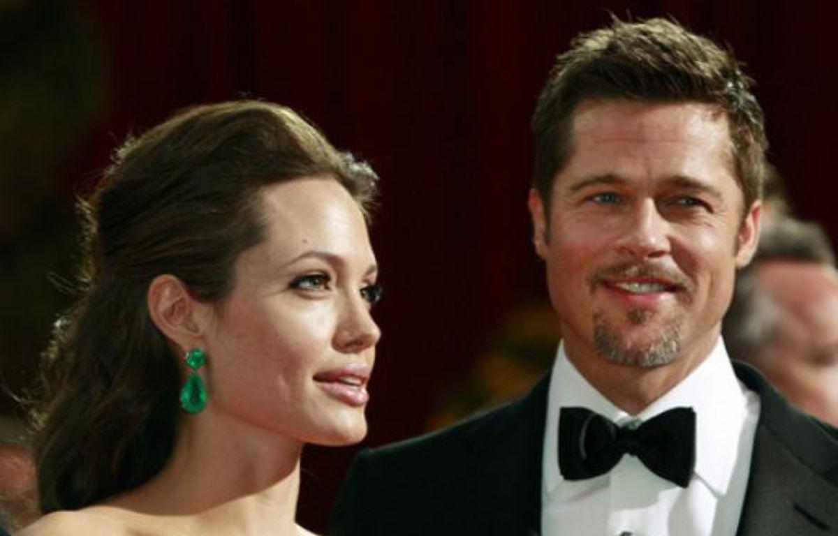 Brad Pitt et Angelina Jolie à la cérémonie des Oscars le 22 février 2009 – Lucas Jackson / Reuters