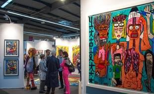 Le salon international d'art contemporain de Toulouse a lieu du 24 au 26 février au Parc des expositions.