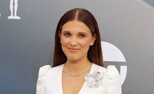 L'actrice Millie Bobby Brown aux 26es Screen Actors Guild Awards