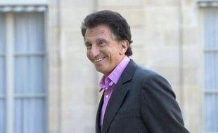 Jack Lang, le 12 mars 2014 au palais de l'Elysée