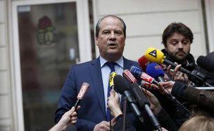 Le premier secrétaire du PS Jean-Christophe Cambadélis à Paris le 30 mars 2015