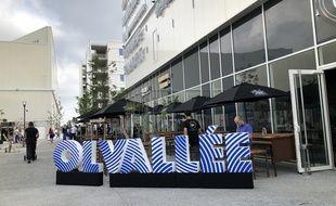 17 enseignes du pôle de loisirs OL Vallée ont été inaugurées ce mercredi à Décines.