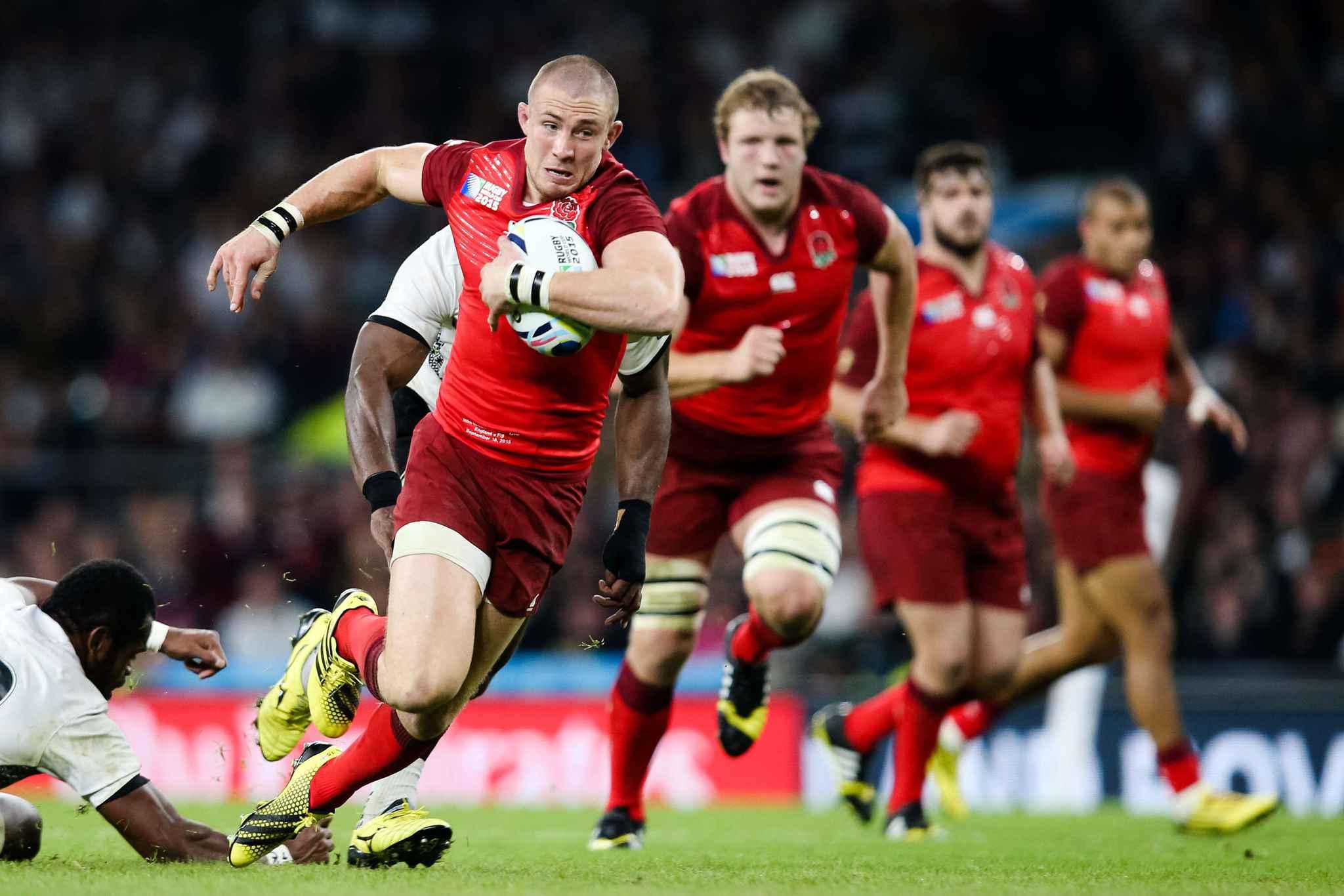 Coupe du monde la sensationnelle victoire du pays de - Coupe du monde de rugby en angleterre ...