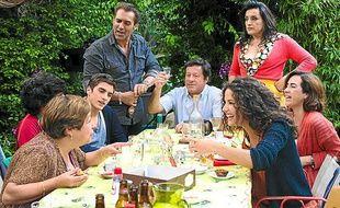 Les acteurs du film «La Cage dorée».