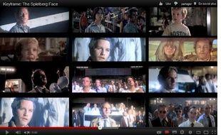 Le supercut commenté de Kevin B. Lee sur les «Spielberg Faces» a été vu plus de 400.000fois depuis fin2011.