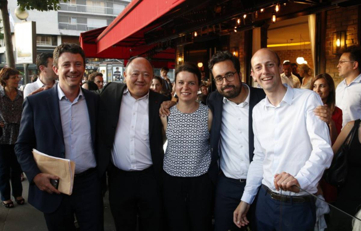 Stanislas Guerini (à droite) – AFP
