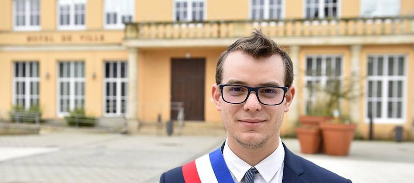 A 25 ans, Rémy Dick, maire de Florange est aussi le plus jeune maire de France.