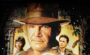 Une partie de l'affiche du film «Indiana Jones»