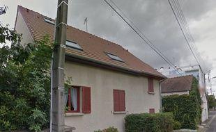 La maison de l'octogénaire agressée le 13 janvier 2017 à Château-Thierry (Aisne)