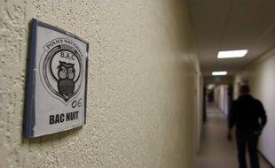 Le bureau de la brigade anticriminalité (bac) de Rennes.