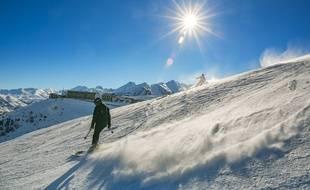 Illustration de la neige dans les Pyrénées.