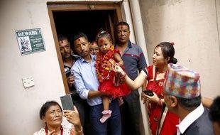 Une enfant de 3 ans a été proclamée déesse vivante au Népal