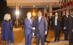 Le président français EmmanuelMacron a entamé une visite officielle de deux jours au Sénégal.