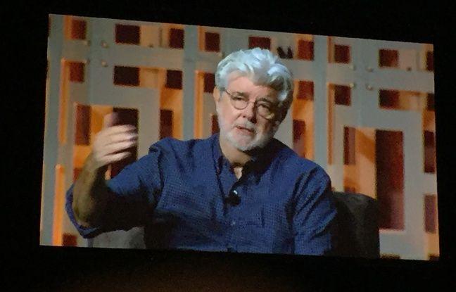 George Lucas est venu parler de Star Wars