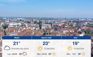 Météo Strasbourg: Prévisions du dimanche 28 juin 2020