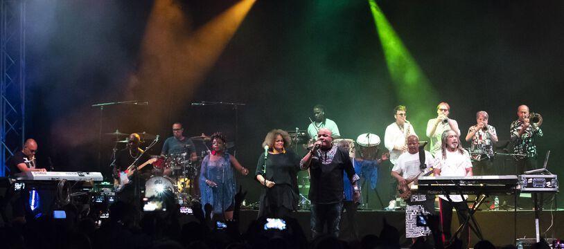 Le groupe Kassav' en concert en 2019 (illustration).
