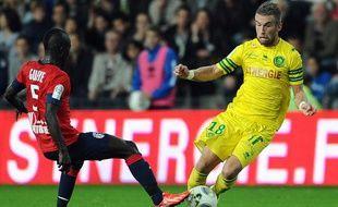 Lille s'est imposé à Nantes 1-0, le 25 octobre 2013.