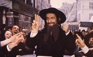 Image du film «Rabbi Jacob» avec Louis de Funès.