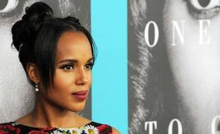 L'actrice Kerry Washington à Hollywood le 31 mars 2016