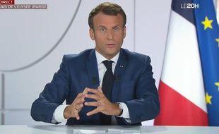Emmanuel Macron Sur Tf1 Cet Accord Est Le Moment Le Plus Important Depuis La Creation De L Euro Estime Le President De La Republique