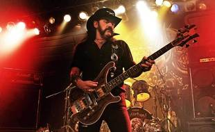Lemmy Kilmister au Liverpool University Mountford Hall en 2011