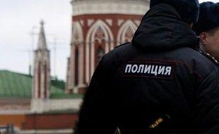 Un policier russe (illustration).