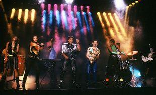 Le groupe Kassav' à l'époque de sa gloire en 1989